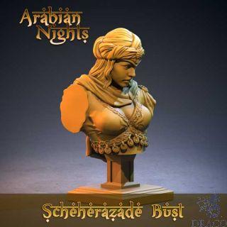 3D Print: Scheherazade Bust