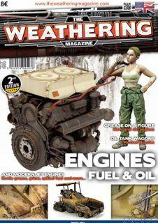 The Weathering Magazine 4 - Engines, Fuel & Oil (english) [AMMO by Mig Jimenez]
