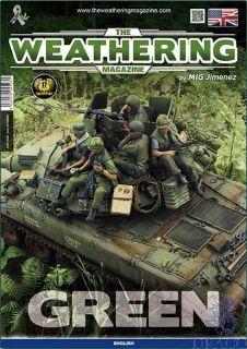The Weathering Magazine 29 - Green (english) [AMMO by Mig Jimenez]
