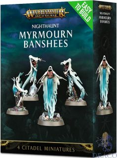Nighthaunt Myrmourn Banshees (Easy To Build)