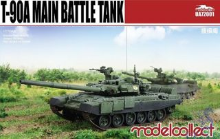 T-90A Main Battle Tank (welded turret) 1/72 [ModelCollect]
