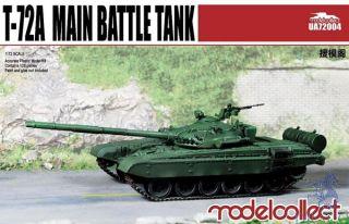 T-72A Main Battle Tank 1/72 [ModelCollect]