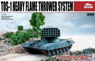 TOS-1 Heavy Flamethrower System 1/72 [ModelCollect]