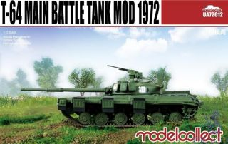 T-64 Main Tattle Tank mod 1972 1/72 [ModelCollect]