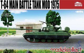 T-64 Main Battle Tank mod 1975 1/72 [ModelCollect]