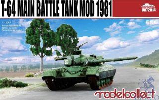 T-64 Main Battle Tank mod 1981 1/72 [ModelCollect]