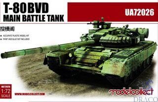 T-80BVD Main Battle Tank 1/72 [ModelCollect]