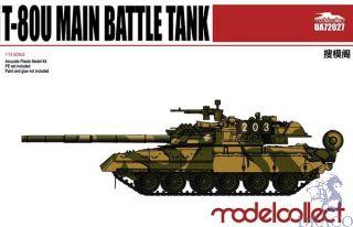 T-80U Main Battle Tank 1/72 [ModelCollect]