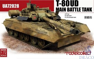 T-80UD Main Battle Tank 1/72 [ModelCollect]