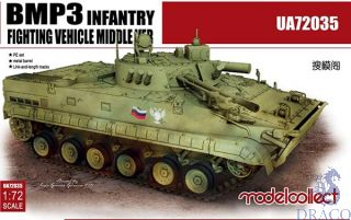 BMP-3 Infantry Fighting Vehicle Middle Version 1/72 [ModelCollect]