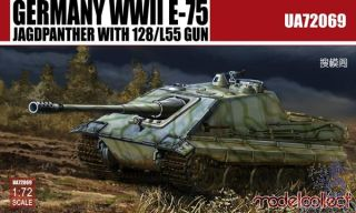 Germany WWII E-75 Jagdpanzer with 128/L55 Gun 1/72 [ModelCollect]