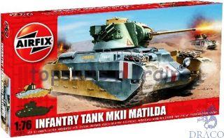 Infantry Tank MKII Matilda 1/76 [Airfix]