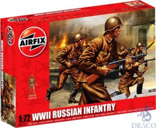 WWII Russian Infantry 1/72 [Airfix]
