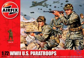 WWII US Paratroops 1/72 [Airfix]