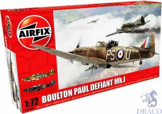 Boulton Paul Defiant Mk.I 1/72 [Airfix]