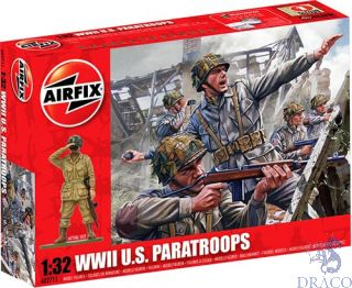 WWII U.S. Paratroops 1/32 [Airfix]