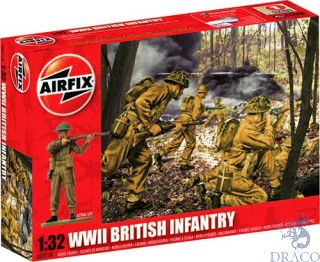 WWII British Infantry 1/32 [Airfix]