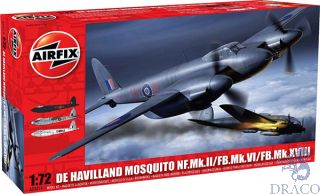 de Havilland Mosquito NF.II/FB.VI/MkXVIII 1/72 [Airfix]