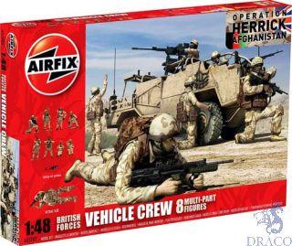 British Forces Vehicle Crew 1/48 [Airfix]