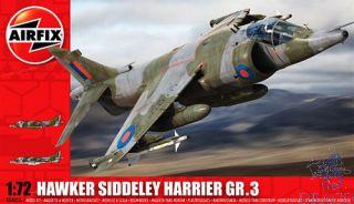 Hawker Siddeley Harrier GR3 1/72 [Airfix]