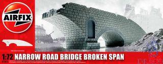 Narrow Road Bridge Broken Span 1/72 [Airfix]