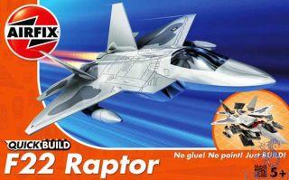 F-22 Raptor QuickBuild  [Airfix]