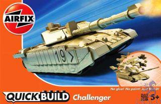 Challenger Tank (#2) QuickBuild  [Airfix]