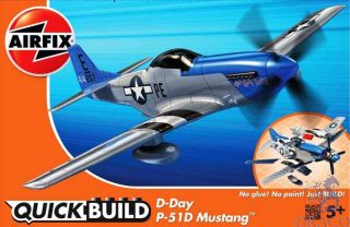 D-Day P-51D Mustang QuickBuild  [Airfix]
