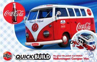 Coca-Cola Volkswagen Camper Van QuickBuild  [Airfix]