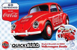 Coca-Cola Volkswagen Beetle QuickBuild  [Airfix]