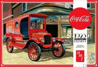 Coca-Cola 1923 Ford Model T Delivery 1/25 [AMT]