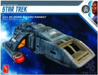Star Trek - Deep Space Nine: U.S.S. Rio Grande NCC-72452 Runabout 1/72 [AMT]