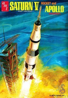 Saturn V and Apollo Spacecraft 1/200 [AMT]