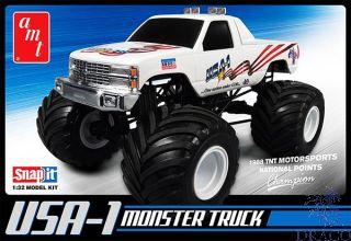 USA-1 Monster Truck - SnapFit 1/32 [AMT]