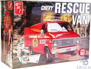 Chevy Rescue Van 1/25 [AMT]