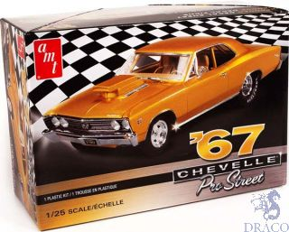 1967 Chevy Chevelle Pro Street 1/25 [AMT]