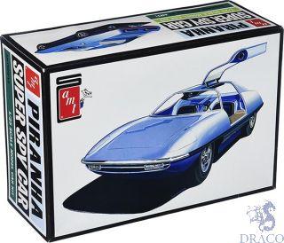 Piranha Super Spy Car 1/25 [AMT]
