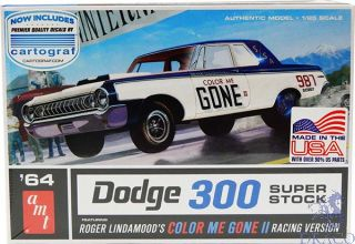1964 Dodge 300 Superstock, Color me Gone, Racing Version 1/25 [AMT]