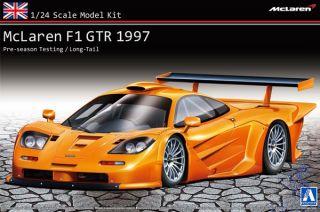 McLaren F1 GTR 1997 Pre-season Testing / Long-Tail - Overseas edition 1/24 (Super Car Series #10) [Aoshima]