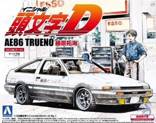 Fujiwara Takumi AE86 TRUENO 1/32 (Initial-D #1) [Aoshima]