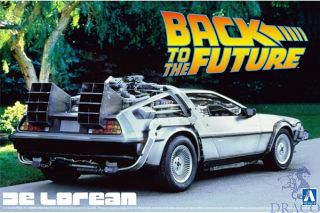 Back to the Future I - Delorean 1:24 [Aoshima]