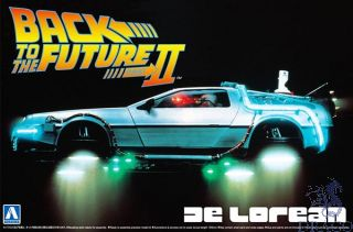 Back to the Future II - Delorean 1:24 [Aoshima]