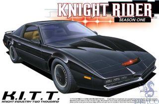 Knight Rider Season I - K.I.T.T. Knight Industries Two Thousand 1:24 [Aoshima]