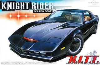 Knight Rider Season IV - K.I.T.T. Knight Industries Two Thousand 1:24 [Aoshima]
