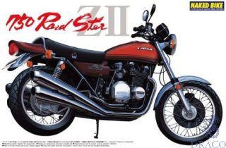 Kawasaki 750 RoadSter ZII 1:12 [Aoshima]