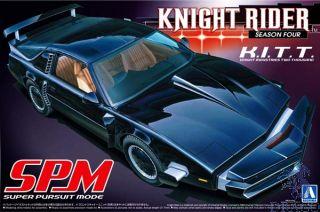 Knight Rider Season Four K.I.T.T. Super Pursuit Mode 1/24 (Movie Mecha #6) [Aoshima]