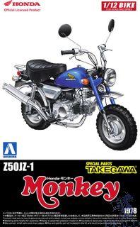 Honda Z50JZ-1 Monkey 1978 - Special Parts Takegawa  1:12 [Aoshima]