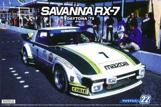 Mazda Savanna RX-7 Daytona '79  1/24 (Model Car 22) [Aoshima]