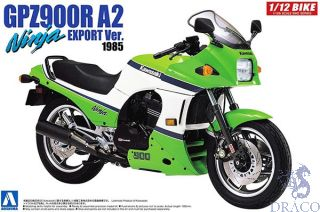 Kawasaki GPZ900R A2 Ninja Export Version 1:12 [Aoshima]
