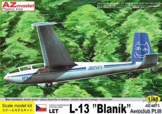 """Let L-13 """"Blaník"""" Aeroclub Pt.III 1/48 [AZmodel]"""